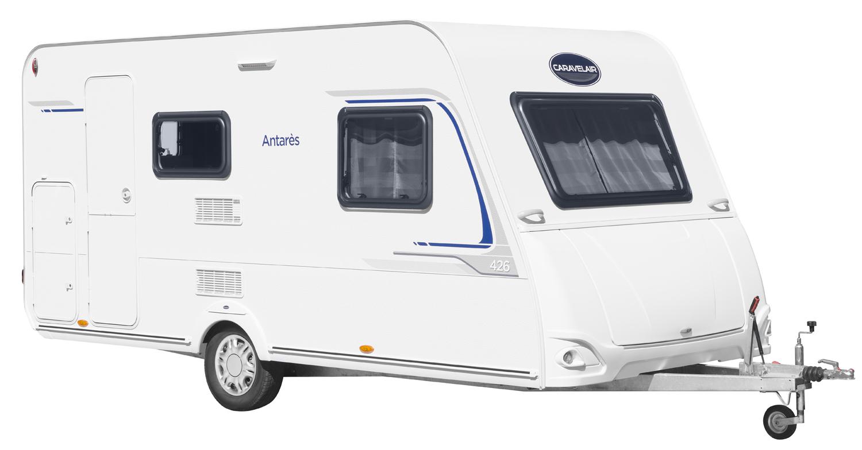 caravane Caravelair modèle Antares