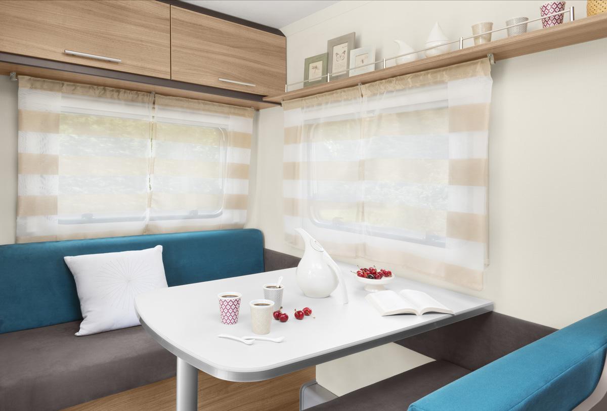 caravane 4 places caravane familiale antares 400 fabricant caravelair. Black Bedroom Furniture Sets. Home Design Ideas