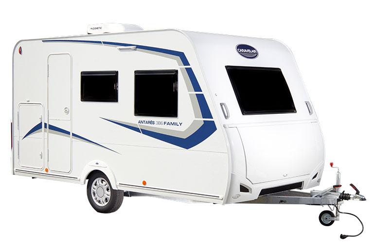 Caravane 6 Places : Caravane Familiale Antares 486